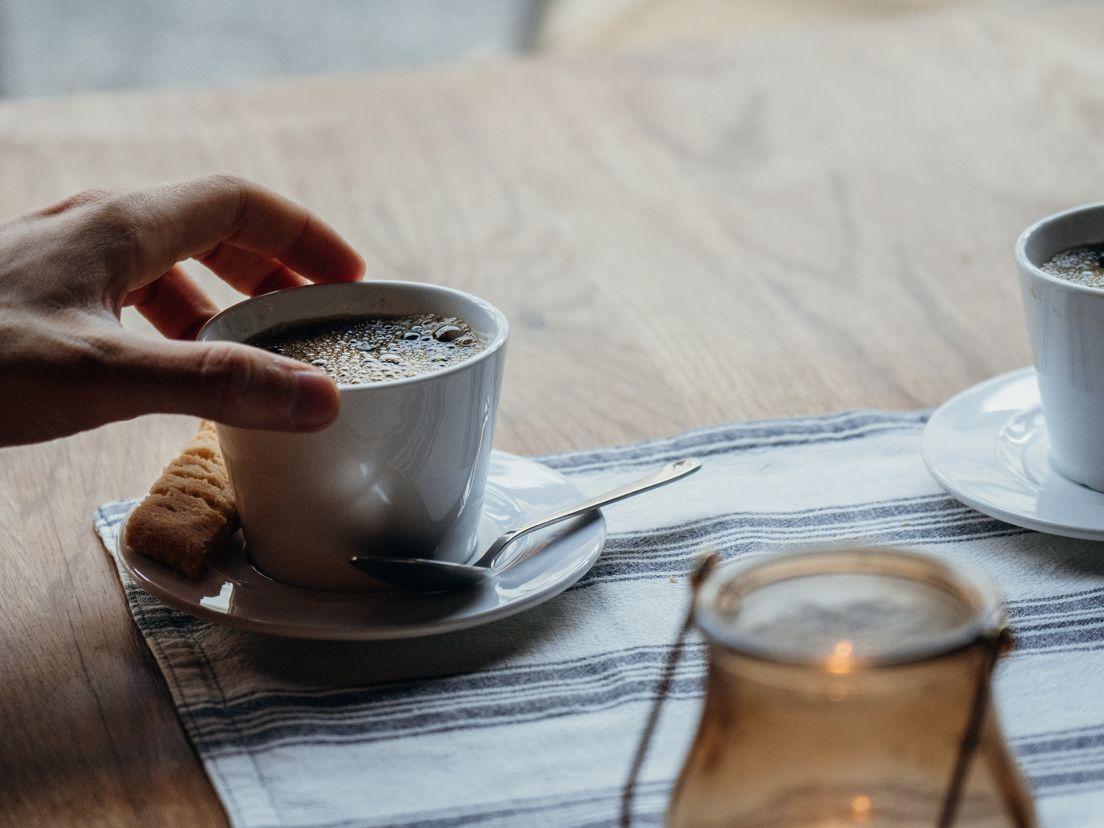 En kaffe och en kaka