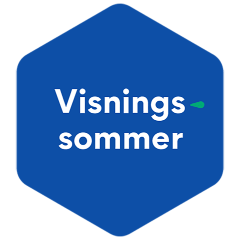 OBOS' emblem for visningssommer.