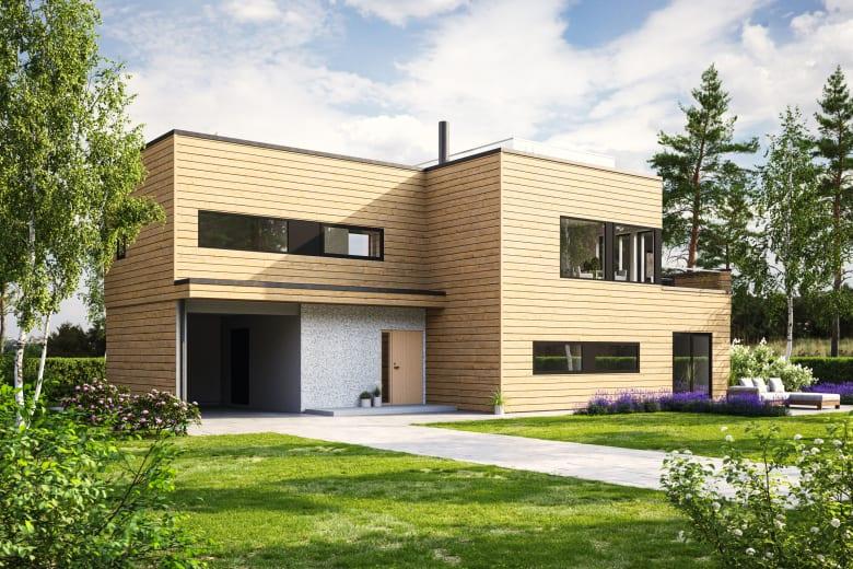 Alm - et moderne og funksjonelt hus