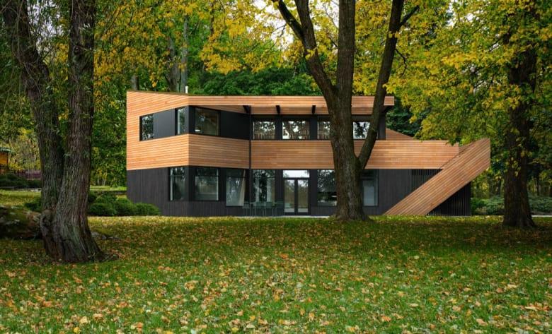 Lønn - et arkitekttegnet og moderne ferdighus