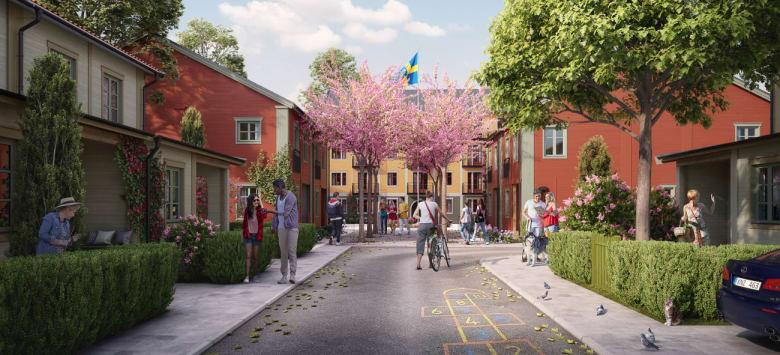 OBOS utvecklar framtidens bostäder i Trädgårdsstaden