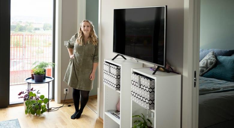 – Det hadde vært umulig for meg å kjøpe leilighet i Oslo uten