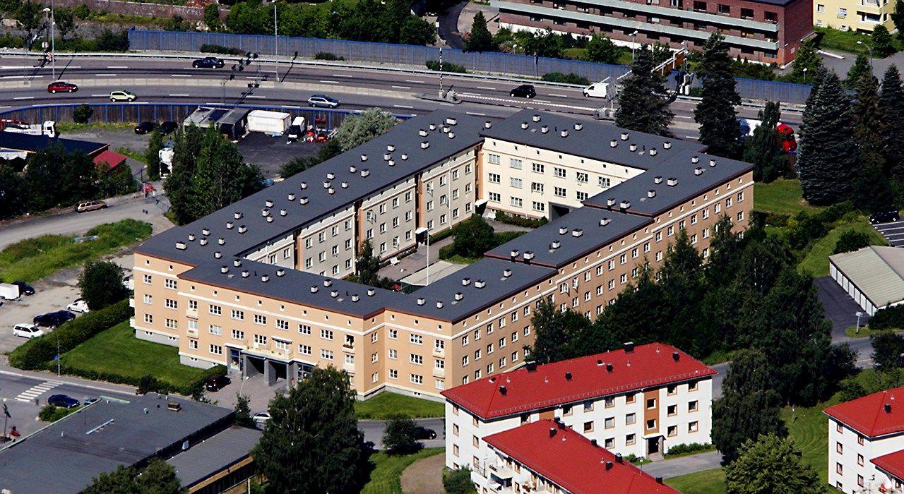 Oversiktsbilde av Etterstad borettslag