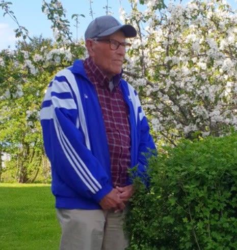 Bilde av 87 år gamle Helge Arnold Svedal fra Trondheim