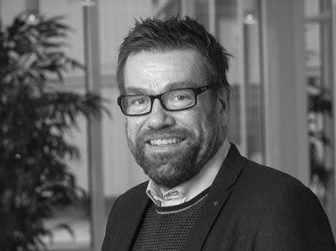 Porträtt av David Carlsson, operativ chef för OBOS projektutveckling