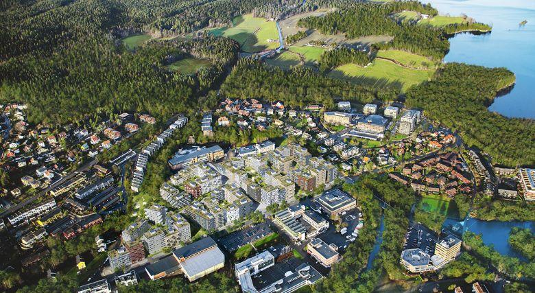 Nye nabolag vokser fram