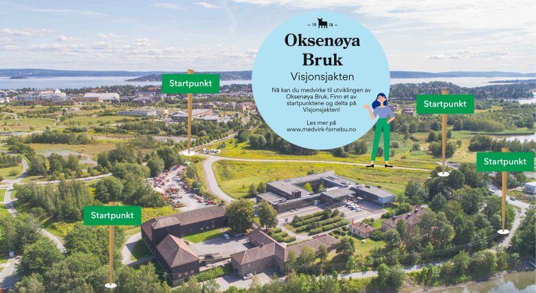 Oksenøya Bruk invitasjon til Visjonsjakten