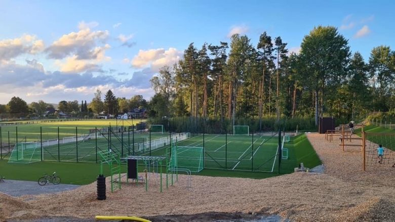 OBOS gav tillbaka nytt aktivitetsområde i Vrigstad