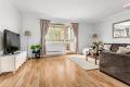 Innbydende stue som er enkel å møblere