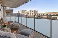 Vestvendt balkong med gode solforhold