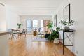 Gjennomgående lys leilighet med store vindusflater