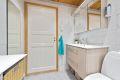 Bad/wc med opplegg/plass for vaskemaskin og trommel