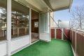 Sørvestvendt balkong på ca. 7 kvm.