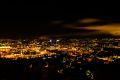 Flott utsikt over hele byen fra Ekeberg.