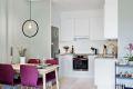 Flott kjøkken fra Aubo med integrert komfyr, platetopp og oppvaskmaskin
