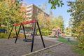 Borettslaget er barnevennlig med bilfri gangvei til både skole og barnehage.