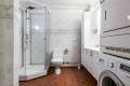 Bad/wc med opplegg for vaskemaskin