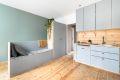 Nytt gulv i heltre med varmefolie i stue/kjøkken i 2018.