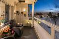 Innglasset balkong på 7,5 kvm