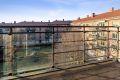 Nordvestvendt balkong