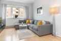 Lys og tiltalende stue