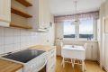 Trivelig kjøkken med spiseplass og flott utsikt