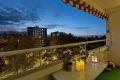 Sydvestvendt balkong med fint utsyn