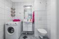 Flislagt bad med elektrisk gulvvarme