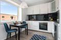 Kjøkkenet er pusset opp i 2020 med ny innredning, nytt gulv og nymalte vegger.