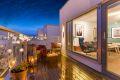 Meget gode solforhold med 2 terrasser 10 og 15 kvm