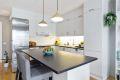 Opplegg til oppvaskmaskin og integrert komfyr og koketopp på kjøkken