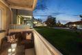 Nordvestvendt balkong med ettermiddagssol