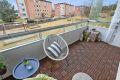 Stor balkong med supre solforhold.