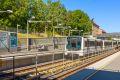 Banens linje 1 og 4 tar deg enkelt ned til sentrum av Oslo.