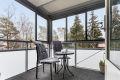 Innglasset balkong- et hyggelig uterom hele året!