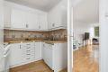 Kjøkken med god skapplass og opplegg for oppvaskmaskin. Alle hvitevarer medfølger.