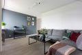 Stue med god plass til stor sofagruppe og sofabord.