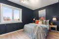 hovedsoverommet er av god størrelse med god plass til dobbeltseng og nattbord.