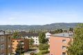 Flott utsikt fra leiligheten og balkongen!