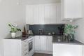 Kjøkken med opplegg for oppvaskmaskin