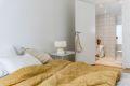Fin plass til dobbeltseng på soverom