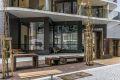 Fasade. Det er planlagt kafe i 1.etg av blokken