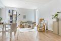 Fin plass til sofa og spisebord i stuen