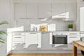 Integrert stekeovn/platetopp/oppvaskmaskin/kjøleskap/fryser