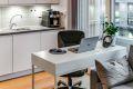 Stue har plass til arbeidspult om man har behov for det