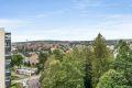Utsikt over Solvang mot byen