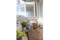 Skjermet og fin balkong med god plass til hagemøbler m.m.