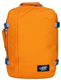 Front facing view of the CabinZero Classic 28L