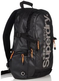 Front facing view of the SuperDry Mega Ripstop Tarp Backpack
