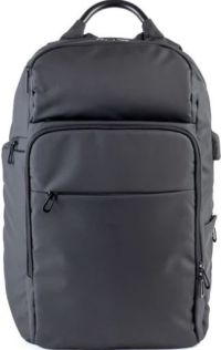 Front facing view of the The Moderne Explorer Backpack